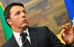Renzi, who won the leadership of the center-left Democratic Party only in December