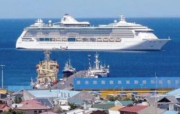 Punta Arenas, capital of Magallanes region has a strong cruise and tourism industry