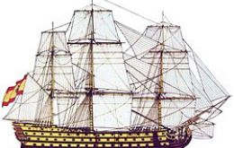 Archeologist Martin Vazquez said it was just a supply ship, which had sailed from Montevideo
