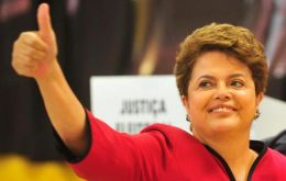 This helps to understand the strong support for the Brazilian president in her re-election bid next October