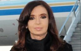 The Argentine president next week will be flying to the Vatican and to Paris