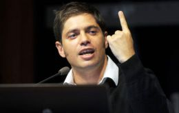 Minister Kicillof attacked opposition and economists for orchestrating an 'end of the world' feeling among Argentines