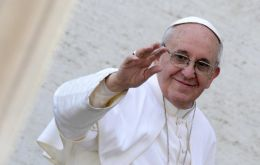 Francis is expected in Philadelphia September 2015 for the World Meeting of Families