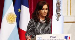 Argentina has been dragging its feet, but this week in France President Cristina Fernandez made encouraging statements