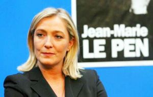 Marine Le Pen, the great winner of last Sunday's local elections
