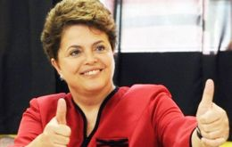The Brazilian president is well ahead of her potential rivals