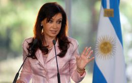 Apparently Cristina Fernandez is now willing to talk about trade with the EU