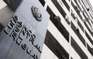 Uruguay central bank with sufficient reserves to cover 18 months of debt payments plus contingent funds
