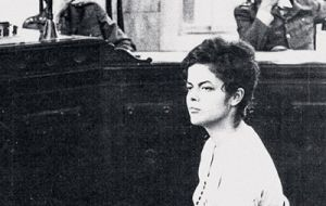 Even president Rousseff at the time a university student was arrested and tortured.