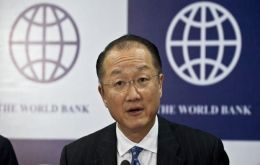 President Jim Yong Kim made the announcement during a speech in Washington