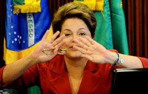 Even President Rousseff was shocked with the original interpretation of the poll