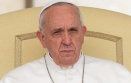 """The worst that can happen to us is to forget about that scene,"" the pontiff said."