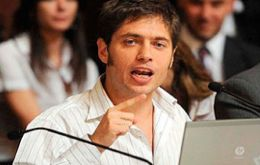Kicillof is confident the slowdown in price increases has spilled over to April