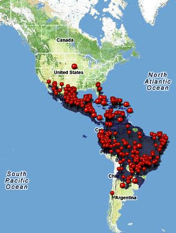 Chikungunya Map Caribbean