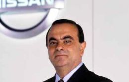 """We came to be protagonists in the automobile market,"" said Nissan's Brazilian-born global CEO, Carlos Ghosn"