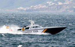 Guardia Civil vessels in Gibraltar territorial waters