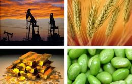 The key risk is a sharper decline in commodity prices caused by weaker demand
