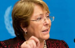"The president of Chile, a champion of women's rights; Maduro missing the touch of Chavez and Mujica, ""legalized pot"""