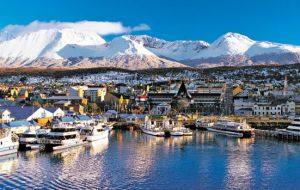 Vast majority of tourism voyages to Antarctica peninsula operate from Ushuaia
