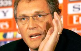 """I have received several messages asking me if there is a civil war in Brazil, and I have replied no"", revealed Valcke"