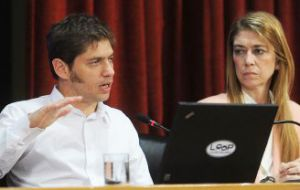 Minister Kicillof and Deborah Giorgi are expected Tuesday in Brazil to talk bilateral trade