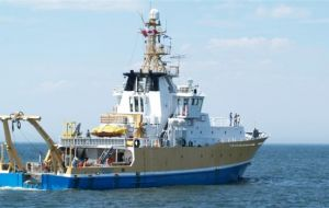 Canada's Coriolis II, has already been working in two of the Blue Pampa project areas