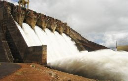 In Brazil an estimated 70% of the country's energy is generated with water