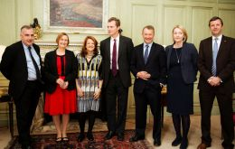 Ambassador Castro with the MPs delegation that last year visited Argentina