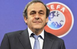 Platini will meet with Gibraltar authorities and present the 'Rock Cup' to the winners after the Saturday game