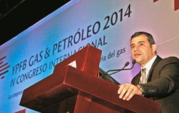 """Energy is power"" and the region has plenty of energy, said Galuccio"