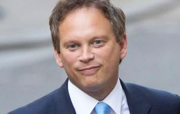 MP Shapps visited Gibraltar aggressively campaigning for the Conservatives in the coming EU election