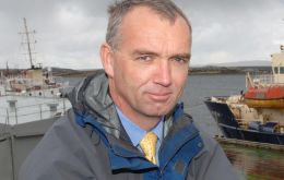 Director of Natural Resources John Barton warned that Illex is under a lot of pressure throughout the SW Atlantic