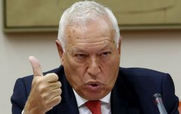 García-Margallo claims that tobacco seizures in the border with Gibraltar have increased 213% between 2010 and 2013