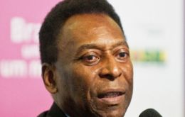 A shame: in 2007 Brazil won the right to have the World Cup, and now one month before the Cup, stadiums there are not yet finished, said Pele