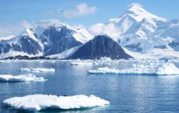Altogether, Antarctic ice loss is now contributing 0.45 millimeters to global sea level rise each year