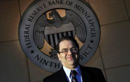 Fed member Narayana Kocherlakota said he did not think the Fed's preferred measure of inflation would reach 2% until 2018
