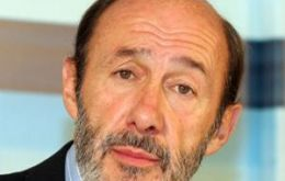 Perez Rubalcaba announced he was stepping down