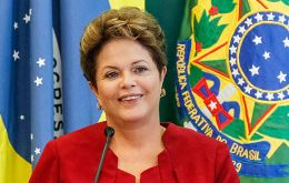 Dilma Rousseff is running for re-election next October and a slow economy is not encouraging