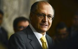 Governor Alckmin satisfied with the FBI training ahead of the World Cup