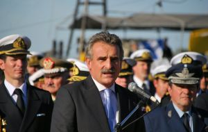 Minister Rossi has promised sea trials by the end of the year