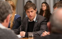 Kicillof is heading the negotiations and was described as very 'skillful'