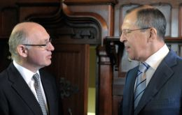 The Timerman/Lavrov meeting took place at the Spiridonovka Palace in Moscow