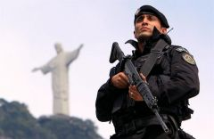 The army has already been deployed in Rio's favelas and in other cities such as Brasilia and Salvador de Bahía