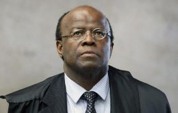 Joaquim Barbosa was the first black to lead Brazil's Supreme Court