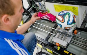 Using wind tunnels and robots, they concluded that the Brazuca had a stable flight trajectory due to its shape and having only six panels