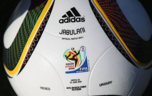 In the South Africa 2010 Cup, the  Jabulani was criticized for its light weight and unpredictability