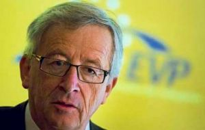 Mr. Juncker belongs to the European People's Party, which won the most seats in the European polls last week