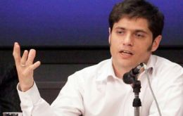 """We have agreed on minimum payments that will increase if new investments come to Argentina, said Kicillof"