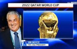 Jim Boyce, a FIFA vice-president said that if allegations are true he favors a re-running the vote for the 2022 host nation