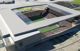 Itaquerao or the Corinthians Arena will host the opening match of Brazil with Croatia on June 12